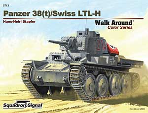 Panzer 38(t) Walk Around - Squadron Signal SS5713
