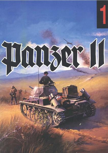 II号戦車wydawnictwo Militaria001