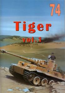 Panzerkampfwagen VI TIGER - Sdkfz.181 - Wydawnictwo Kariuomenė 074