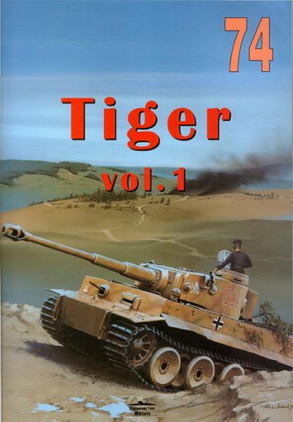 Panzerkampfwagen VI - TIGER - Sdkfz.181 - Wydawnictwo Militaria 074