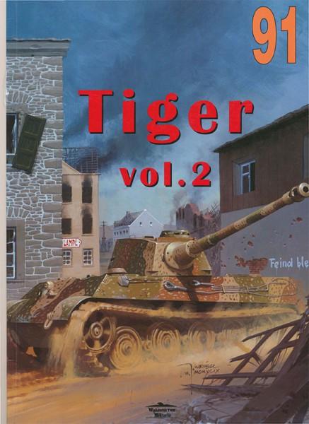 Panzerkampfwagen VI - TIGRE - Sdkfz.181 - Wydawnictwo Militaria 091 (vol2)