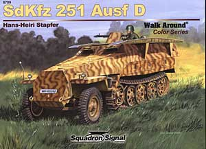 Sd.Kfz.251 Color Walk Around - Squadrone Segnale SS5709