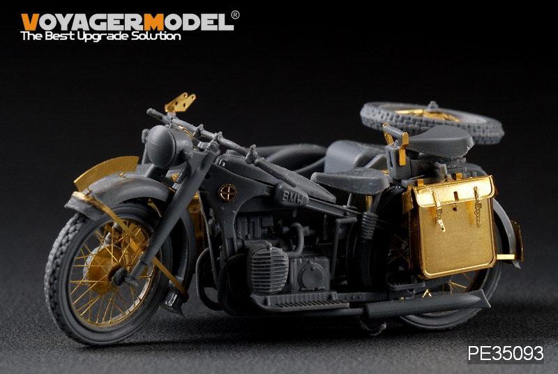 Stel duitse Motorfiets R-12 (Zvezda 3607) - MODEL VOYAGER PE35093