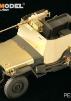 Rinkinys JAV Jeep Willys MB w/Pridėti Amour (TAMIYA 35219) - VOYAGER MODELIS PE35195