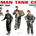 Ensemble de figurines de char ALLEMAND de l'ÉQUIPAGE (Normandie 1944) - MINIART 35132