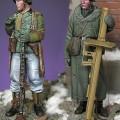 Zestaw de grenadier figurki Ardenach 1945 - czarny pies F35024