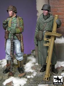 Set de figurines Grenadiers Ardennes 1945 - BLACK DOG F35024