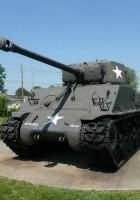 Tank Sherman - Procházet