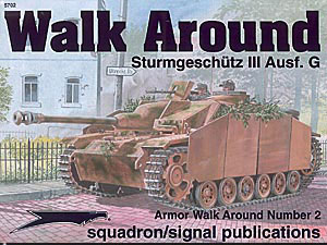 StuG III Ausf G прогулянка навколо-сигнал ескадрильї SS5702