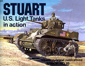 Stuart: US Light Tanks in Action - Squadron Signal SS2018