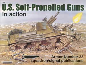 US Self-Propelled Guns in Action - Squadron Signal SS2038