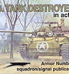 US Tank Destroyers in Action - Squadron Signal SS2036