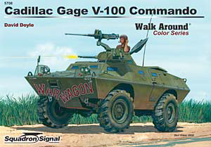 V-100 Commando Color Walk Around - Squadron Signal SS5708