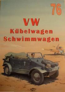 폭스바겐 Kübelwagen Schwimmwagen-wydawnictwo Militaria076