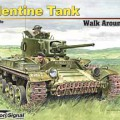 Valentine Tank Walk Around - Squadron Signal SS5722