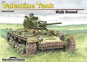 Czołg valentine chodzić-eskadra sygnału SS5722