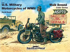 Β ' παγκοσμίου πολέμου Μοτοσικλέτες Color Walk Around - Squadron Signal SS5707