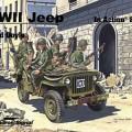 La seconde Guerre mondiale Jeep En Action - Squadron Signal SS2042