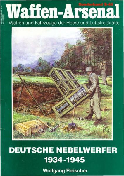 Deutsche Nebelwerfer - Waffen Arsenal Sonderband 40