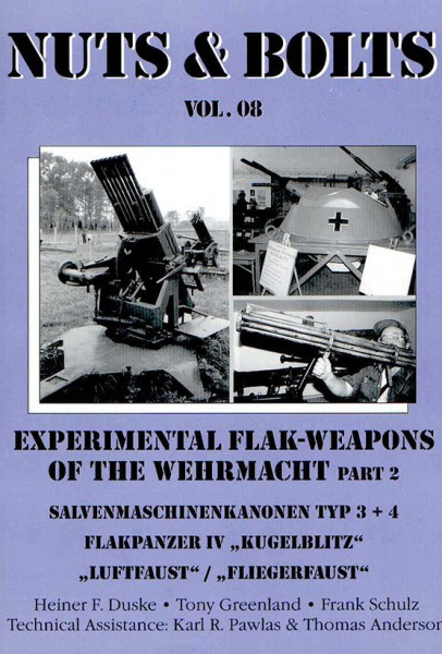 Experimental Flak-Weapons of the Wehrmacht - Nuts & Bolts 08
