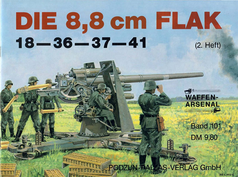 Flak Jacket Xlj >> Flak 88mm - Waffen Arsenal 101 - Livre - English
