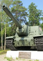 ISU-152vol2 차량 중 하나