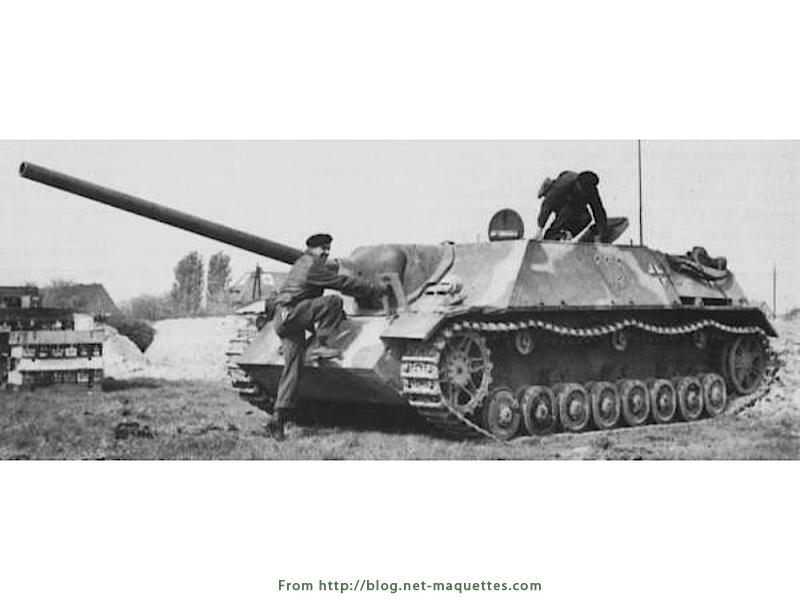 Jagdpanzer - Jagdpanther - JagdTiger - Photos