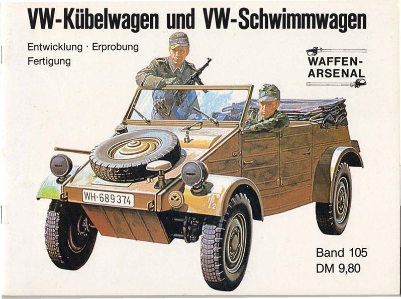 Kübelwagen - Schwimmwagen - Waffen Arsenal 105