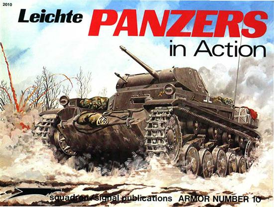 Leichte Panzers en Action - Squadron Signal SS2010