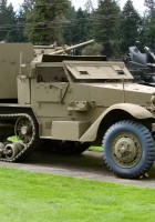 M15A1 Half-track - Walk Around