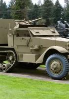 M15A1ハーフトラック-歩