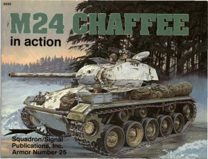 M24 - Chaffee in Action - Squadron Signal SS2025