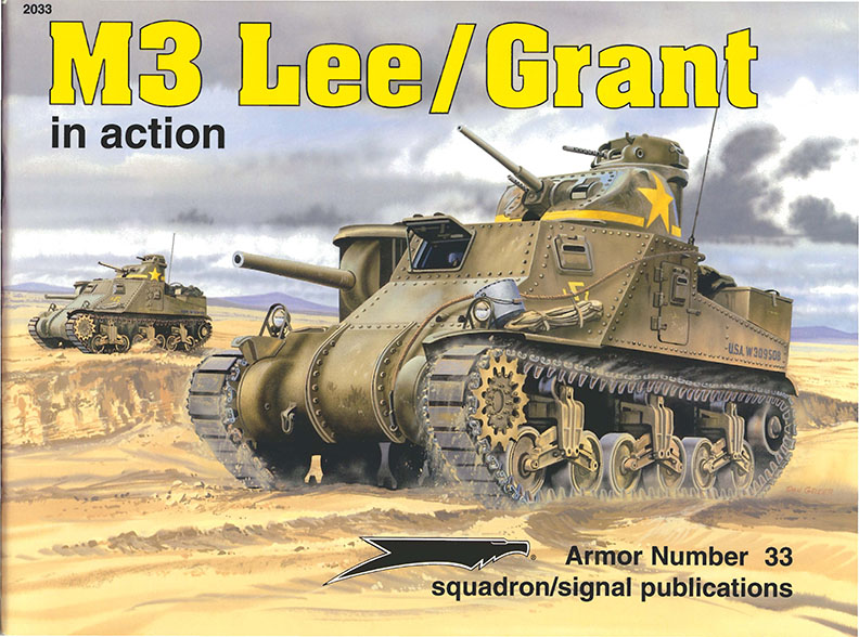 M3 Lee - Grant in Aktion - Squadron Signal SS2033