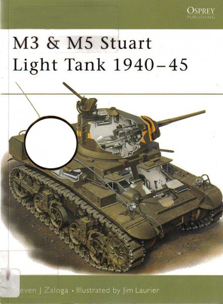 M3, M5 - Stuart light tanks - нова Vanguard 33