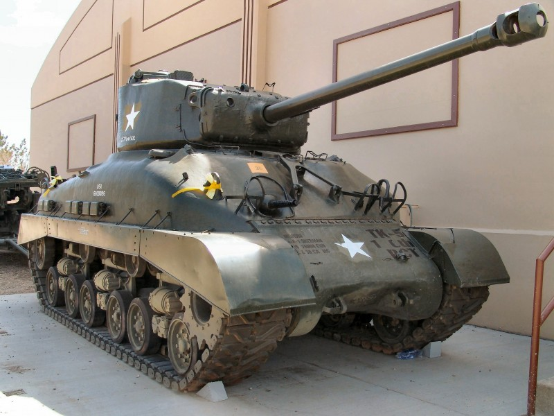 M4A1 - Sherman - Walk Around