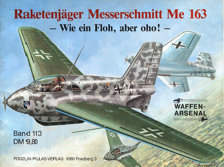 Messerschmitt Me 163 - Aseita Arsenaali 113