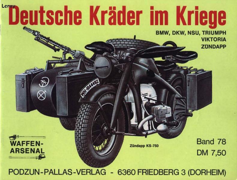 Motos de la Wehrmacht - Waffen Arsenal 078