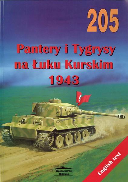 Párduc, Tigris - Koursk 1943 - Wydawnictwo Militaria 205
