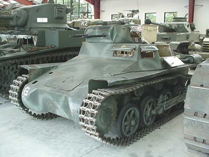 Panzer I Ausf.A Walk Around
