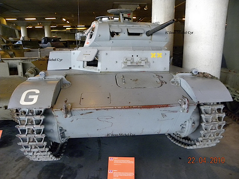 Pzkpfw II Ausf.C - Walk Around