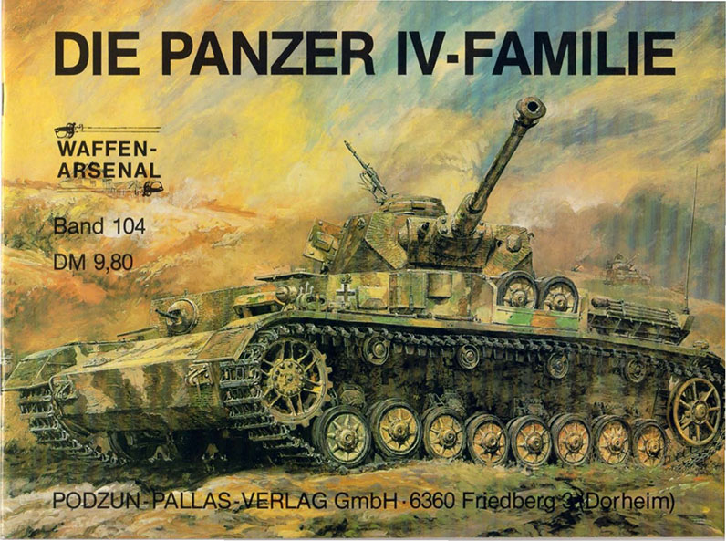 Panzer IV Family - Waffen Arsenal 104