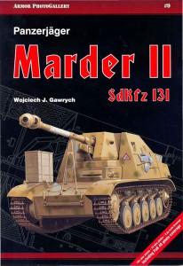 Tank-vadászok Marder II. SdKfz.131 Páncél Fotógaléria 009