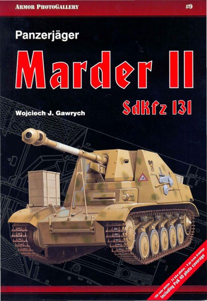 Tank-jagers Marder II SdKfz.131 Armor Photogallery 009