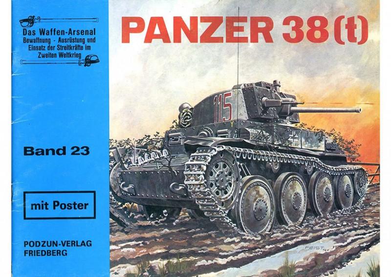 潘泽坎普夫瓦根 38 (t) - 武器阿森纳 023