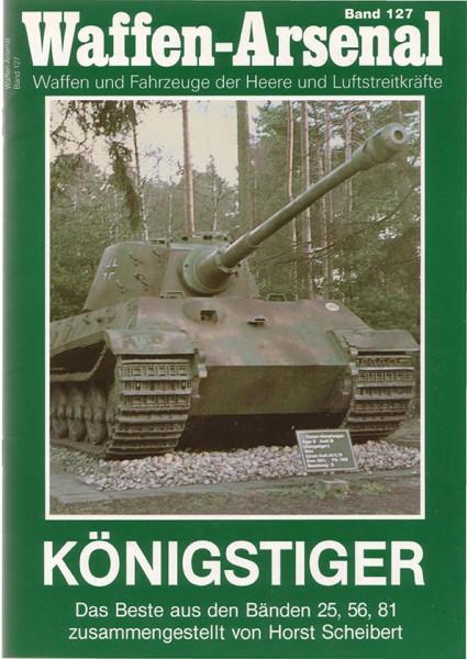Panzerkampfwagen VI, rei de tigre - Arsenal de armas 127
