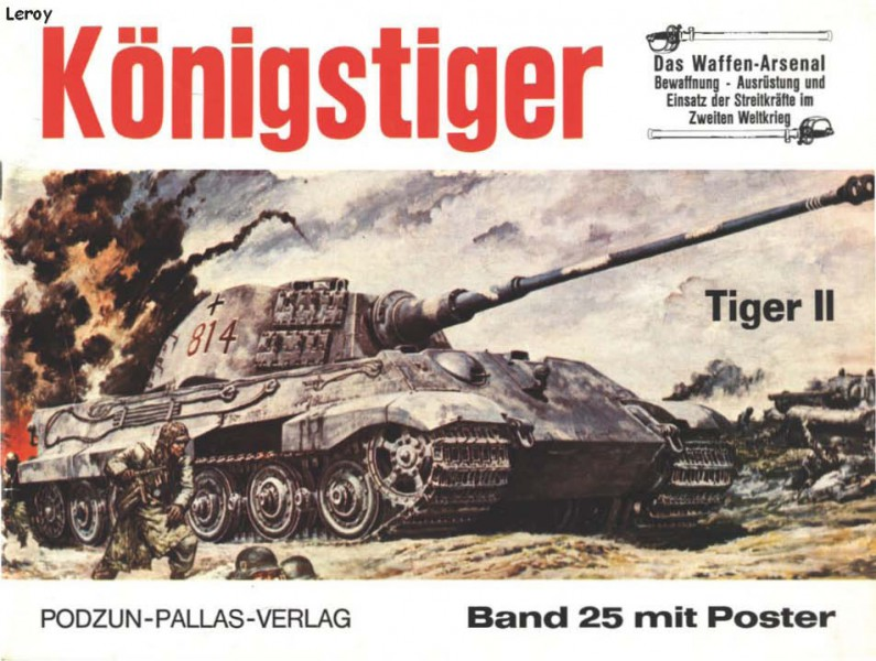Panzer VI king tiger - vapen Arsenal 025