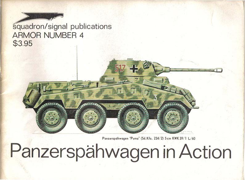 Panzerspähwagen в дії - ескадрилья сигналу SS2004