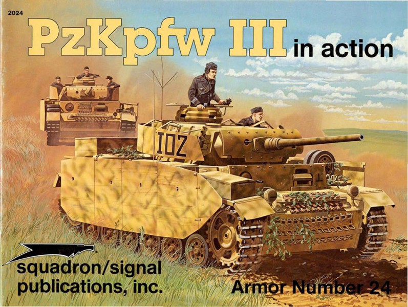 Або PzKpfw III в дії - ескадрилья сигналу SS2024