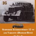 Grave Zugkraftwagen 12 t - Sdkfz.8 - Nuts & Bolts 16