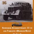 Schwerer zugkraftwagen 12 t - Sdkfz.8 - Riešutai & Varžtai 16